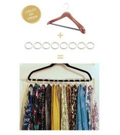 Organize your scarfs