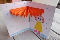 Top 40 Examples for Handmade Paper Events - Everything About Kindergarten Autumn Crafts, Fall Crafts For Kids, Spring Crafts, Projects For Kids, Diy For Kids, Diy And Crafts, Arts And Crafts, Origami, Craft Activities