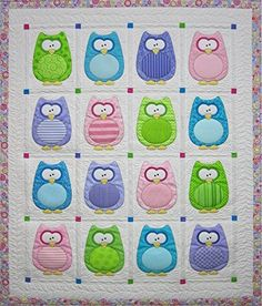Owl Baby Quilt Whoooo wouldnt love to cuddle with this adorable ... : owl quilt patterns baby - Adamdwight.com
