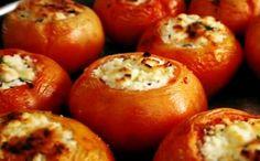 Receita de tomate recheado com frango para a fase cruzeiro PL dukan.