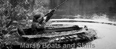 marsh boats and skiffs Hunting Stuff, Duck Hunting, Duck Boat, Wood Boats, Boat Plans, Boat Building, Abstract, Artwork, Product Design Poster