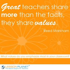Sweet quote about #teachers.