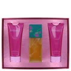 Animale Gift Set - 3.4 oz Eau De Parfum Spray + 6.7 oz Body Lotion + 6.7 oz Body Gel