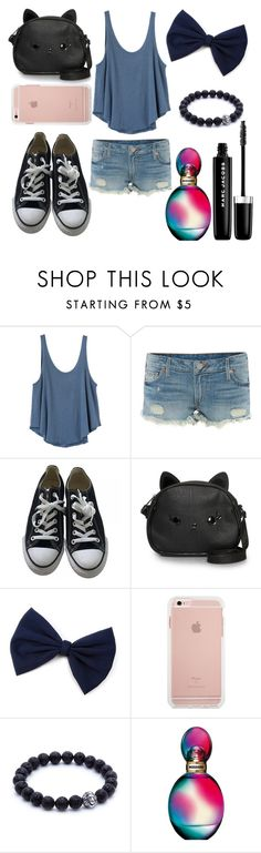 """Untitled #47"" by cassie-raquel ❤ liked on Polyvore featuring RVCA, True Religion, Converse, Loungefly, Missoni and Marc Jacobs"