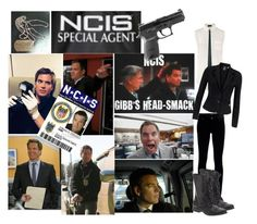 NCIS.... Anthony Dinozzo by ava-123 on Polyvore featuring Joseph, Vero Moda, Citizens of Humanity, Jil Sander and Steve Madden