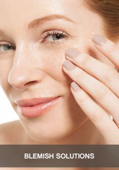 How to deal with an under-the-skin blemish.