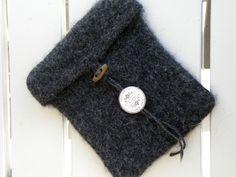 iPadmappe, strikket og tovet