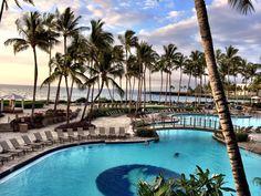 Kona pool at Hilton Waikoloa