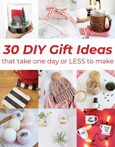 30 DIY Gift Ideas – A Beautiful Mess