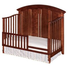 $299.99 Westwood Jonesport Convertible Crib - Virginia Cherry - VERY NICE!