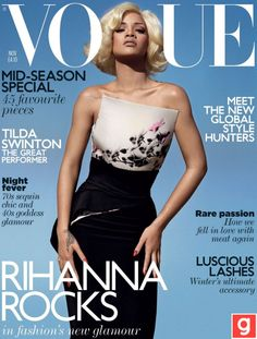 Rihanna rocks Vogue