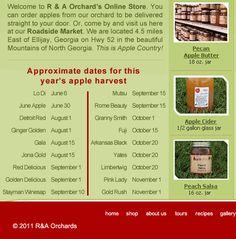R&A Orchards  September Wonder...amazing apple!