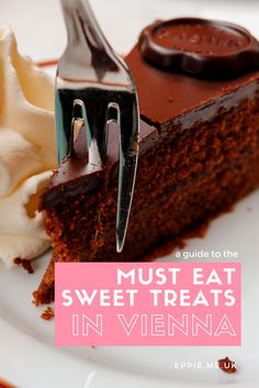 A guide to the must eat sweet treats in Vienna, the best cakes, cafes, patisseries and sweets!