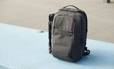 The pack lacks a rigid structure - comfortable but reduced protection