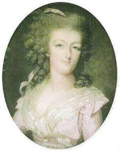 Marie Antoinette, miniature, c. 1784                                                                                                                                                                                 Plus