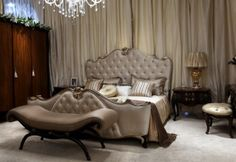 Transitional Italian Bed Room Set - Classic Furniture and Classical interior Design Ideas