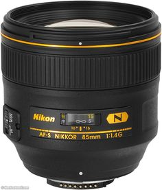Nikon 85mm f/1.4 AF-S G N (77mm filters, 20.8 oz./591g, 2.6'/0.8m close focus). I THINK THIS IS MY NEW LOVE . . .