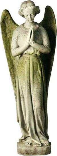 Garden Angel Outdoor Religious Garden Statue Statuary Made of Faux