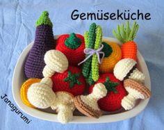 Légumes au Crochet patron Amigurumi PDF