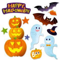 Wall Decorations: Halloween 01 - Halloween - Parties & Events - Paper Craft - Canon CREATIVE PARK