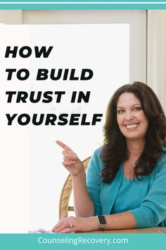 When we grow up in dysfunctional families we may not feel like we have a voice. Learning how to trust yourself is an important part of the recovery process. By honoring your feelings you can start using them for guidance. Learn how to trust yourself and use these skills to help your relationships heal. #trust #selfworth #selftrust #recovery #codependency Self Esteem Activities, Codependency Recovery, Relapse Prevention, Dysfunctional Family, Coping With Stress, Improve Mental Health, Assertiveness, Low Self Esteem, Addiction Recovery