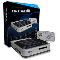 RetroN 5 Gaming Console (Gray) - Hyperkin - RETRO