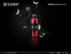 embraceyourelement-day-3d-flash-inspiration-webdesign