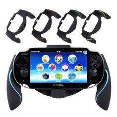 Aweek® Bracket Handgrip Handle Grip Case for Playstation Vita 1000 PSVita PS #Aweek