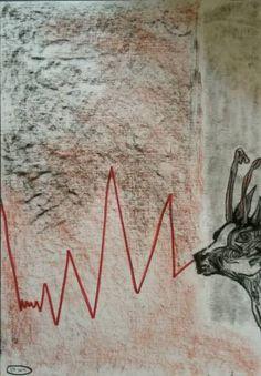 Original Animal Collage by Leni Smoragdova London Art, Abstract Expressionism Art, Art Day, Insta Art, Paper Art, Saatchi Art, Collage, Drawings, Artwork
