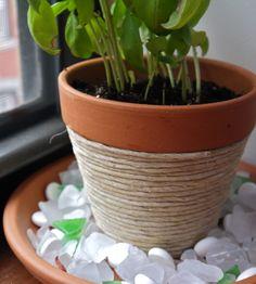 10 façons amusantes de décorer vos pots de fleurs | BricoBistro