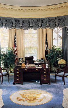 George HW Bush's Oval Office