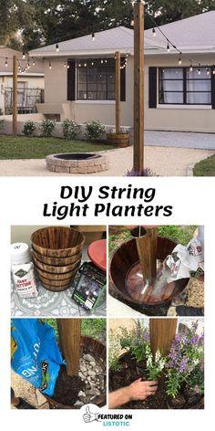 Garden Ideas Budget Backyard, Small Backyard Design, Budget Patio, Backyard Patio Designs, Small Backyard Landscaping, Backyard Projects, Diy Patio, Outdoor Projects, Easy Garden