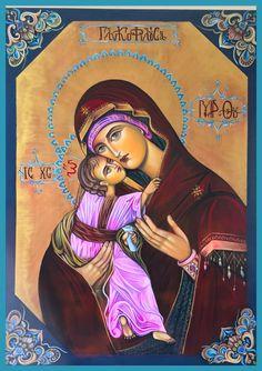 Lady Madonna, Madonna And Child, Orthodox Icons, Blessed Mother, Sacred Art, Mother Mary, Princess Zelda, Disney Princess, Jesus Christ