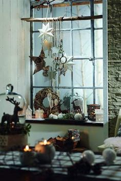 .Fensterdeko (Christmas Diy Decoracion)