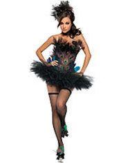 Adult Sexy Peacock Costume #partycity #halloween