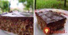 Rýchly krupicový koláčik