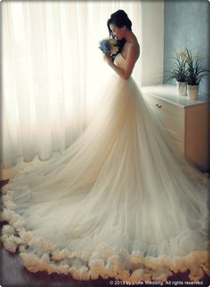 """""""I love thee with the breath, Smiles, tears of all my life."""" - Elizabeth Barrett Browning  #wedding #dress #gowns #bridal #love #romance #white #elegant"""