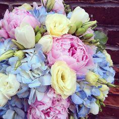 Lisa's bridal bouquet. Botany Floral Studio
