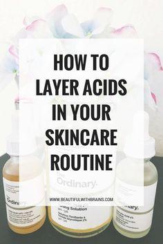 layer acids skincare guide