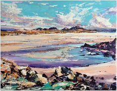 North Uist  Acrylic on canvas (18x14'')