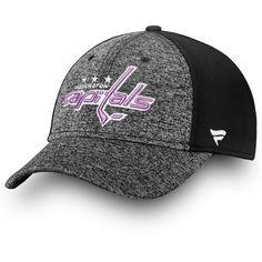 441656b61f9a91 Men's Washington Capitals Fanatics Branded Black/White 2018 Hockey Fights  Cancer Speed Flex Hat, Your Price: $29.99