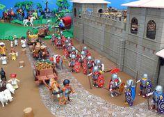 Ayuda con fortaleza romana