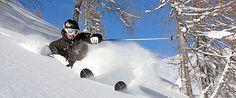 Special Skitechnik: Richtig fahren im Tiefschnee