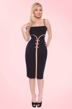Glamour Bunny Ginger Pencil Dress 100 10 14556 1