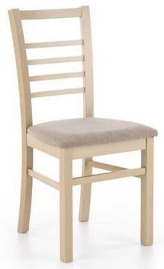 Krzesło ADRIAN - dąb sonoma / beż, Halmar - Meble - sklep meble.pl Dining Chairs, Furniture, Home Decor, Decoration Home, Room Decor, Dining Chair, Home Furnishings, Home Interior Design, Dining Table Chairs