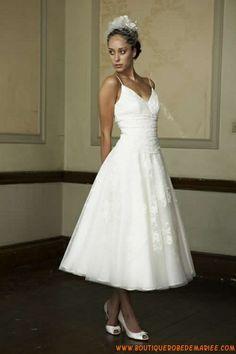 Robe de mariée neuve+jupon style vintage d'occasion