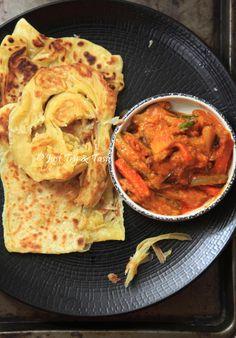 Resep Homemade Roti Canai (Paratha) JTT