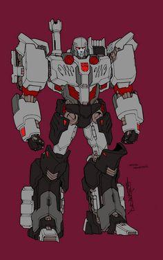 Transformers: Alex Milne MTMTE Autobot Megatron Concept Sketch