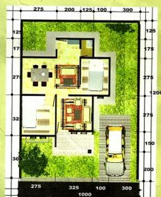 denah rumah minimalis panjang kebelakang denah rumah
