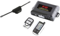CSPI - 2-Way LCD Paging Combo Alarm, Keyless Entry & Remote Start System with Rechargeable Remote Case Pack 6